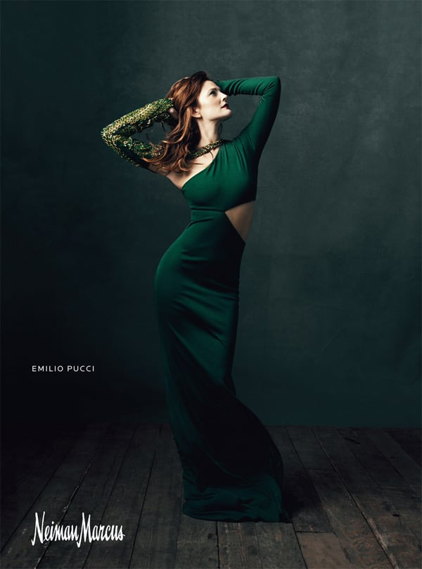 Drew Barrymore for Neiman Marcus -photo session, fashion-photographer, advertising campaign