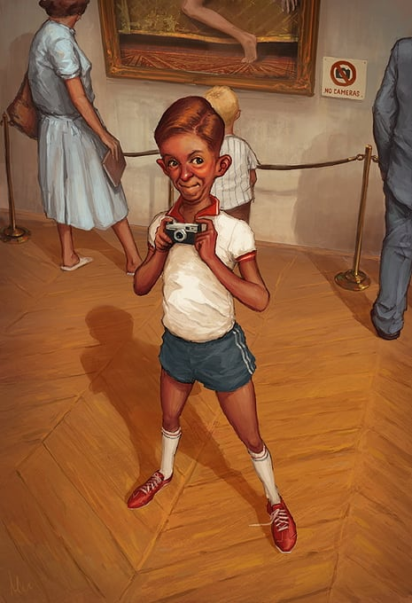 Illustrator Michal Lisowski -poland, illustrator, artist
