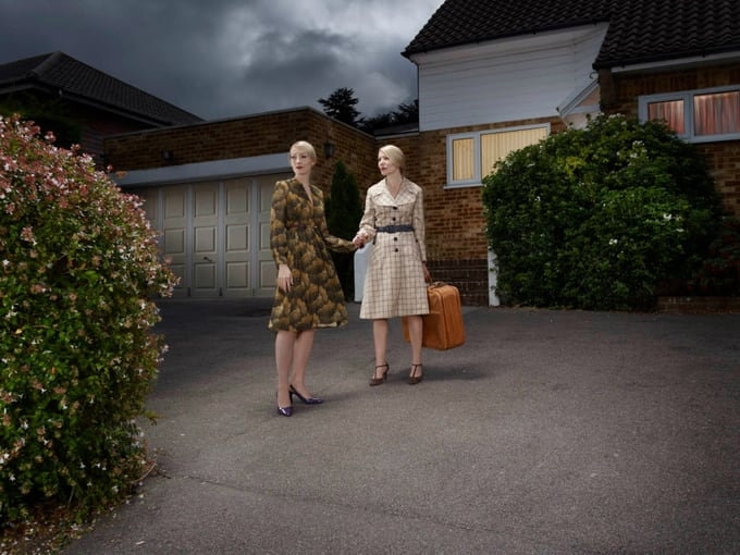 """Mothers and Daughters"" by Julia Fullerton-Batten -photographer, photo-series, england"