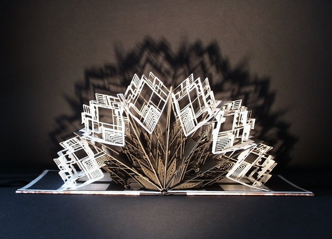 Stunning Paper Crafts from Ingrid Siliakus -house
