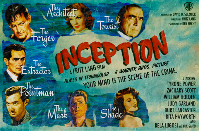 Movies From an Alternate Universe by Peter Stults -movie posters