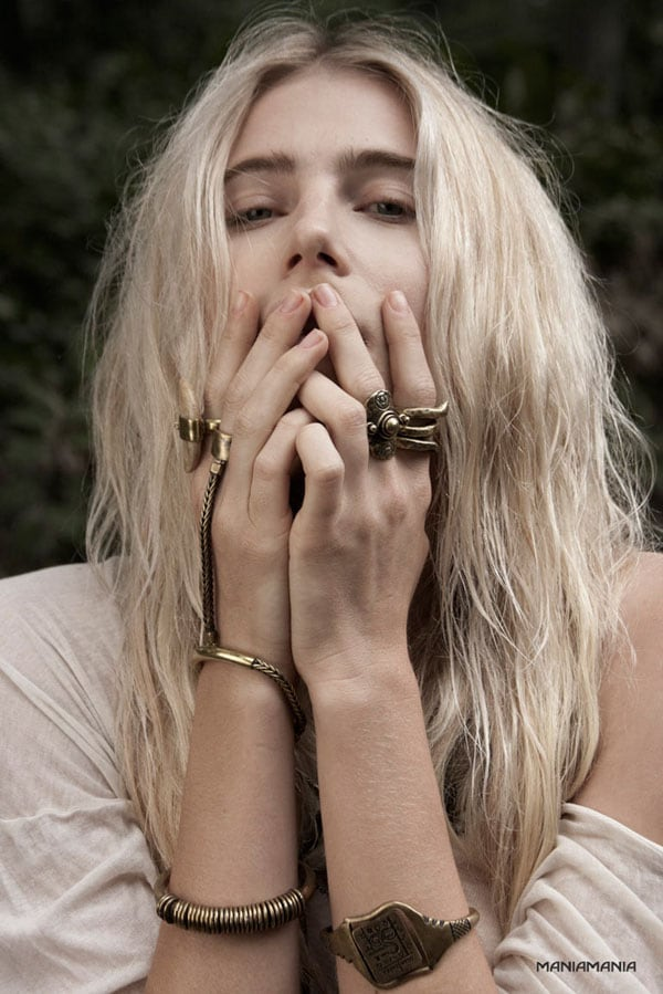 """Dree Hemingway for ManiaMania """"Modern Utopian"""" Campaign by Stacey Mark -photo session"""