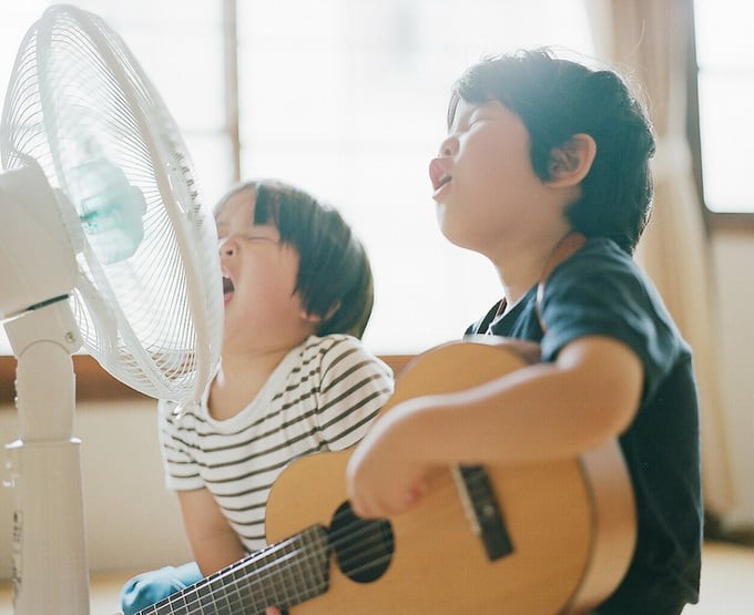 Sons of Hideaki Hamada -photo-series, lifestyle, children