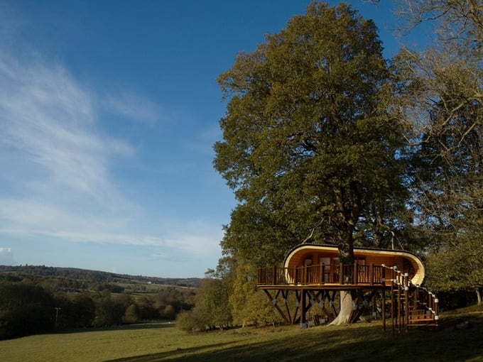 Wooden house Eco Perch -house