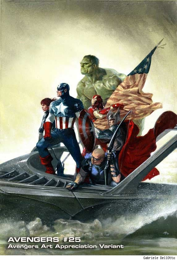 "208dd 006 - Marvel Unveils ""Avengers Art Appreciation"" Variant Covers"