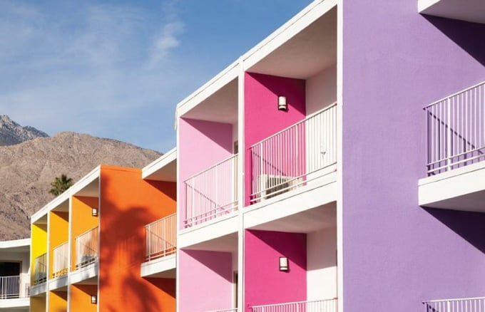 The Saguaro Hotel, Palm Springs by Peter Stamberg and Paul Aferiat Architects -hotel