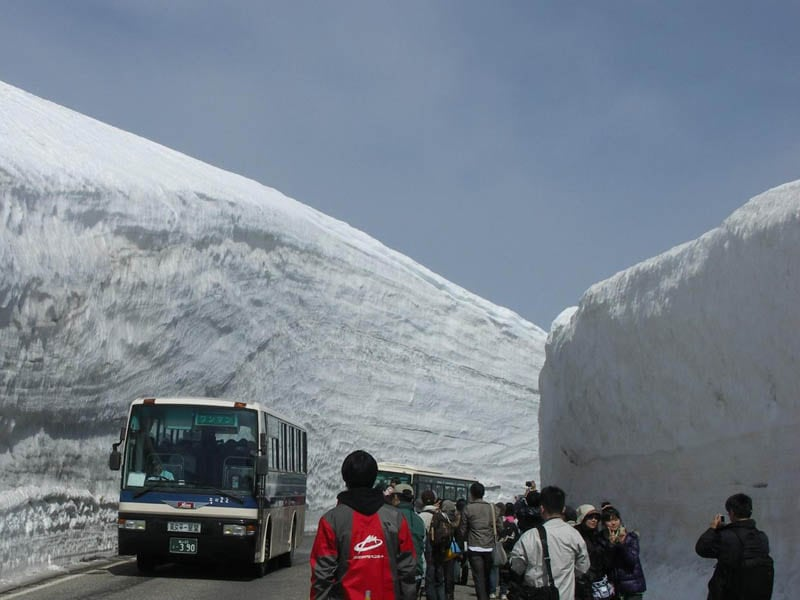 5140 Great wall of snow 20 meters high