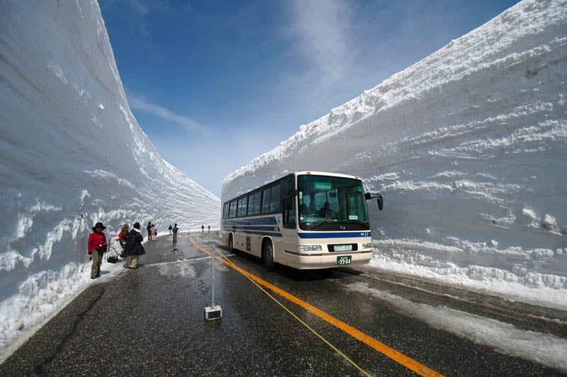 6140 Great wall of snow 20 meters high