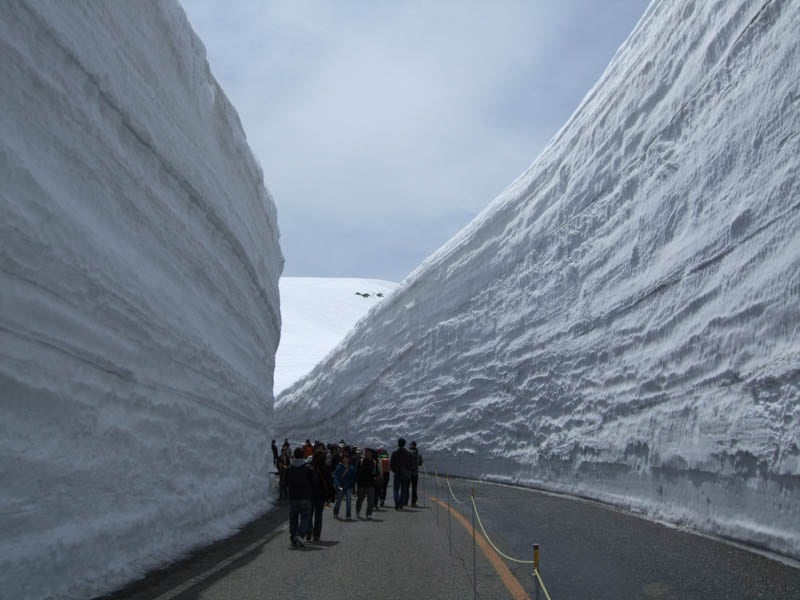7136 Great wall of snow 20 meters high