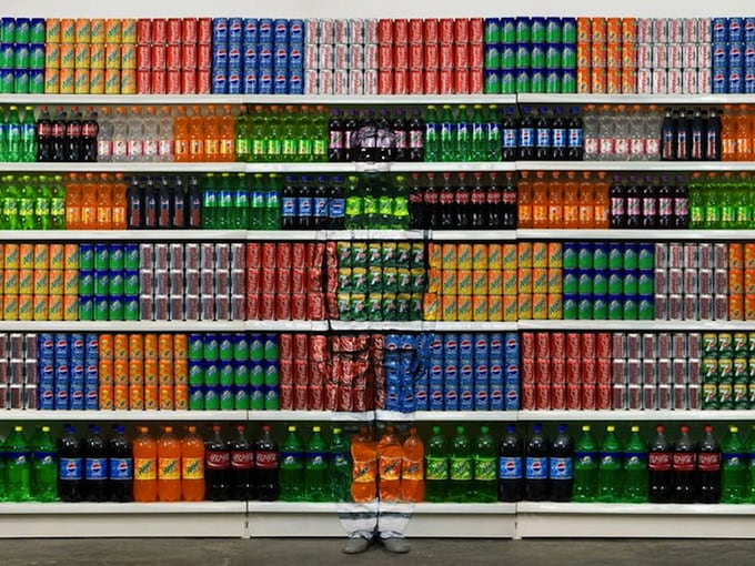 New series of Liu Bolin -Liu Bolin