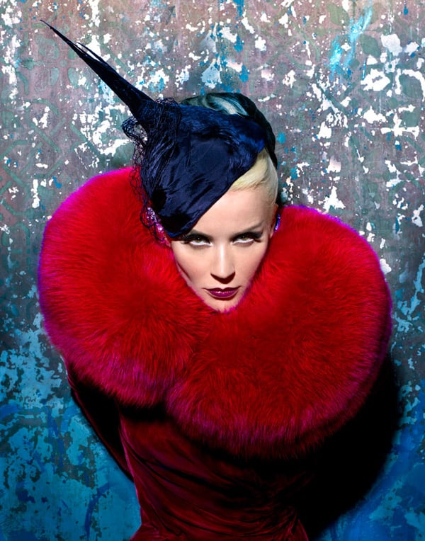 Daphne Guinness by Markus Indrani for Muse Magazine -photo session