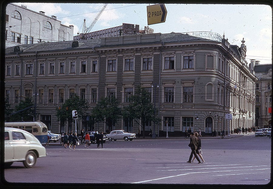 2163 Moscow 1969 in the lens of the American photographer