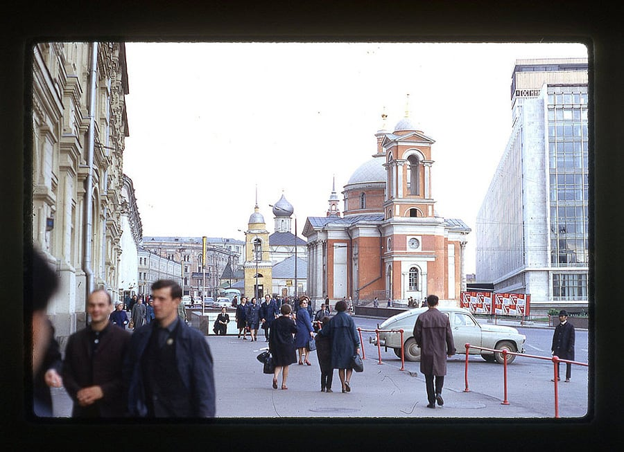 2233 Moscow 1969 in the lens of the American photographer