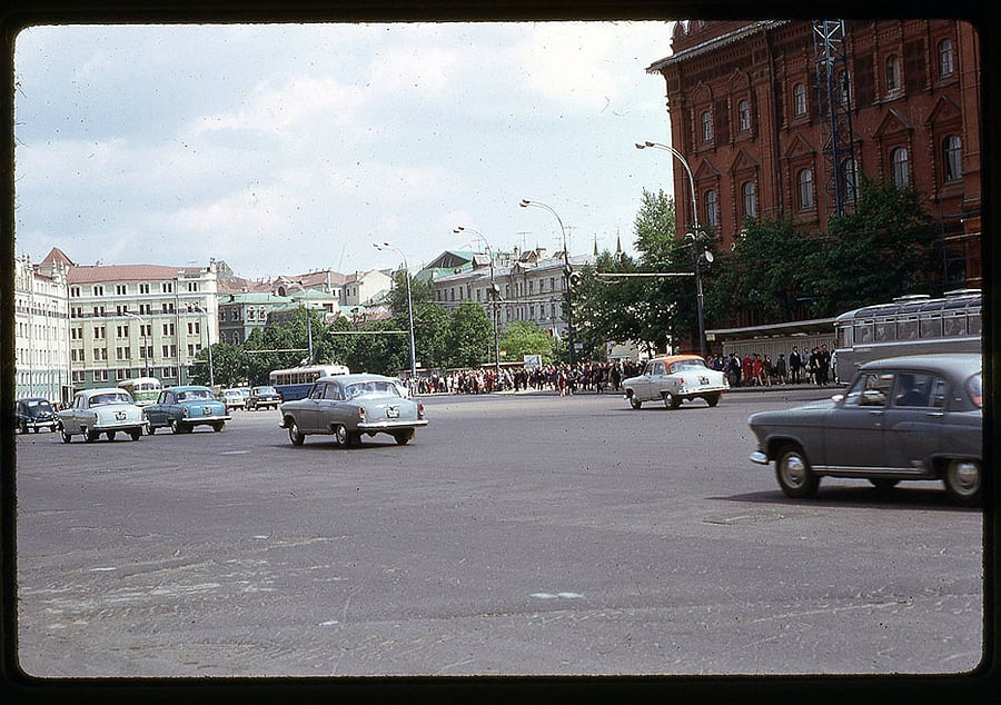 1062 Moscow 1969 in the lens of the American photographer