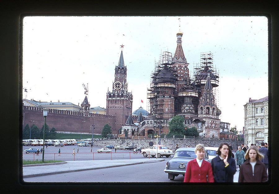 863 Moscow 1969 in the lens of the American photographer