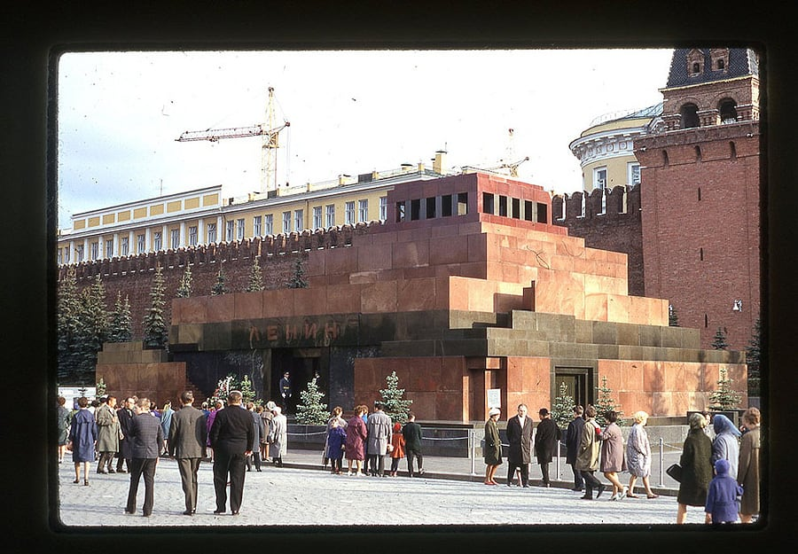 960 Moscow 1969 in the lens of the American photographer