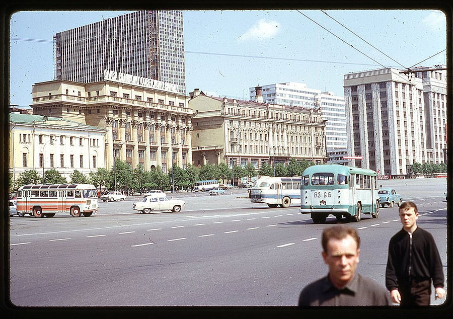 1641 Moscow 1969 in the lens of the American photographer