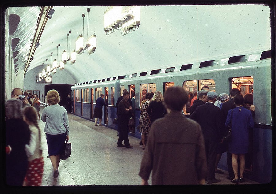 1739 Moscow 1969 in the lens of the American photographer