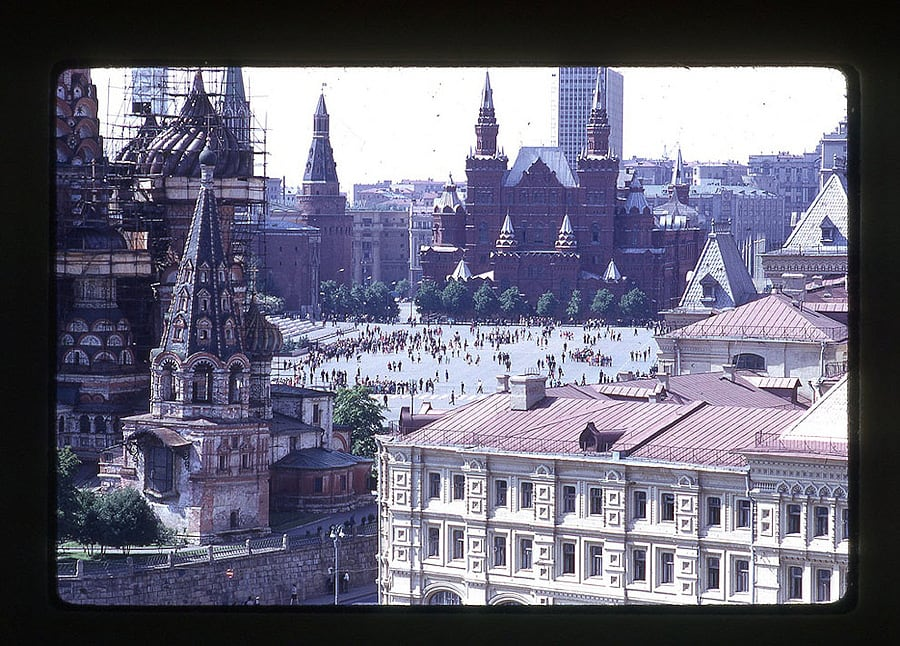 672 Moscow 1969 in the lens of the American photographer