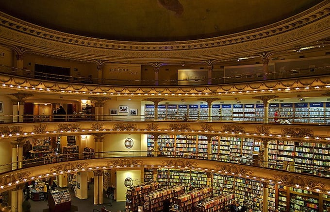El Ateneo in Buenos Aires – A bookstore to end all bookstores -