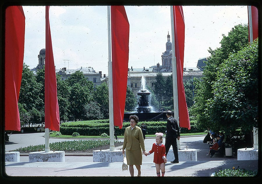 1258 Moscow 1969 in the lens of the American photographer