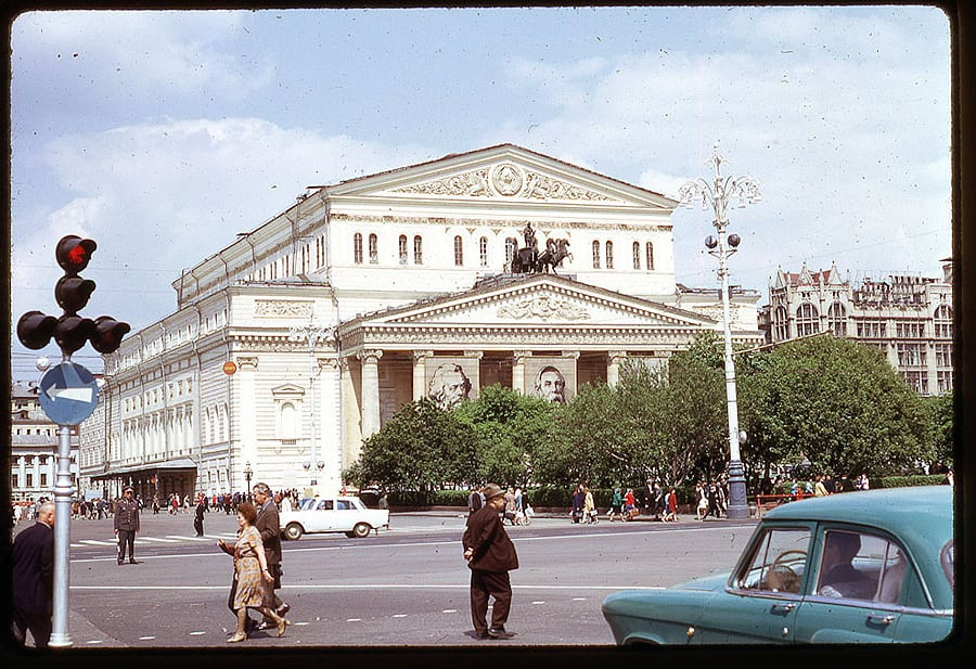 2523 Moscow 1969 in the lens of the American photographer