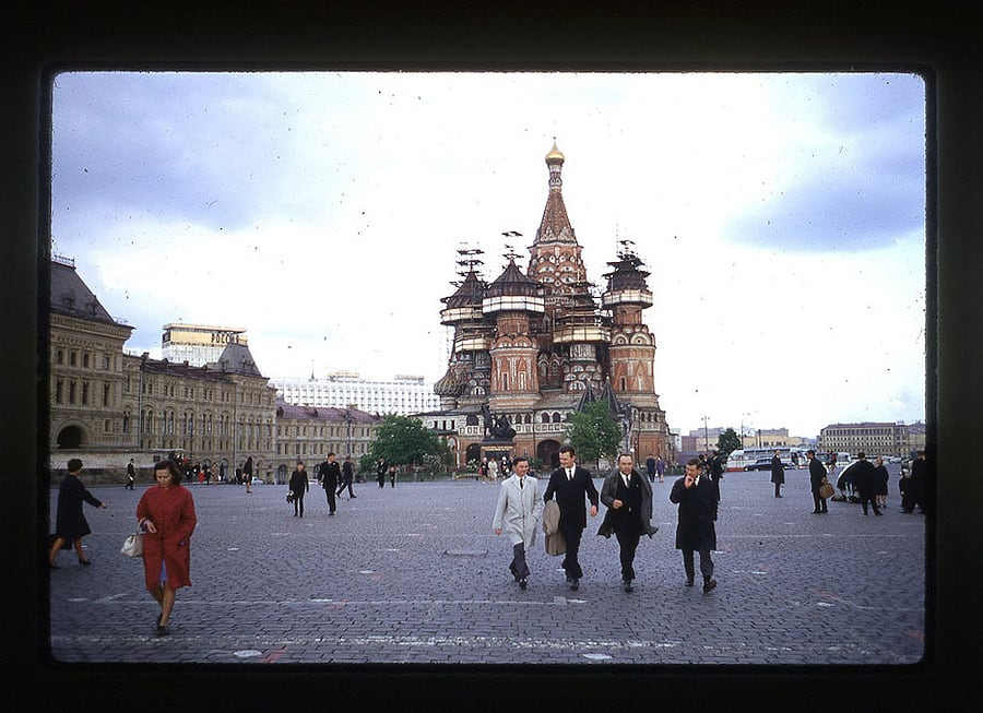 2162 Moscow 1969 in the lens of the American photographer