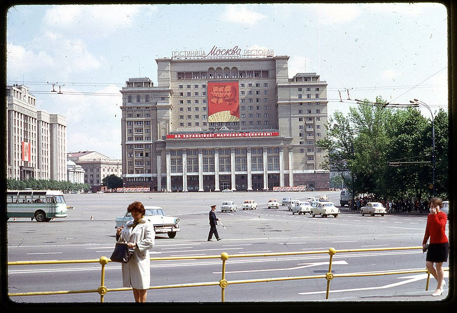 Moscow 1969 in the lens of the American photographer -moscow