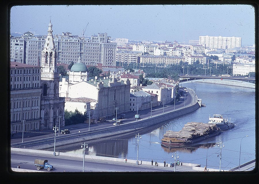 2328 Moscow 1969 in the lens of the American photographer
