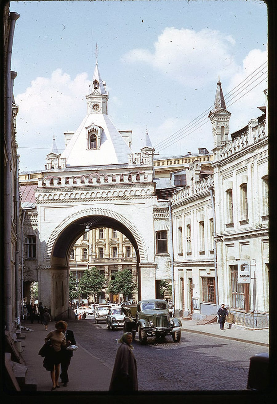 2426 Moscow 1969 in the lens of the American photographer