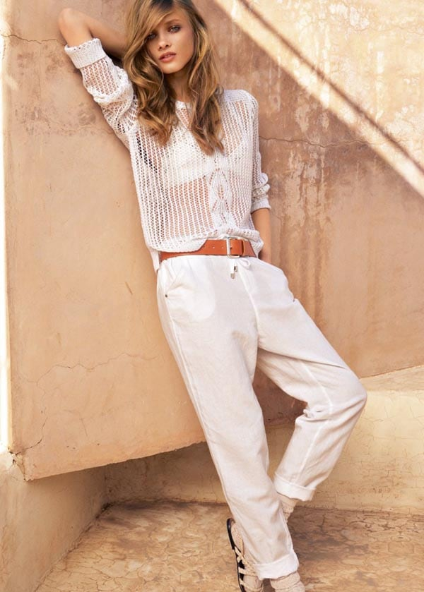 Anna Selezneva in Mango advertising campaign -photo session, Mango, Anna Selezneva