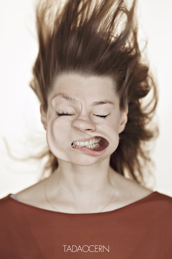 9113 Blow Job Series Captures Faces Blasted with Air