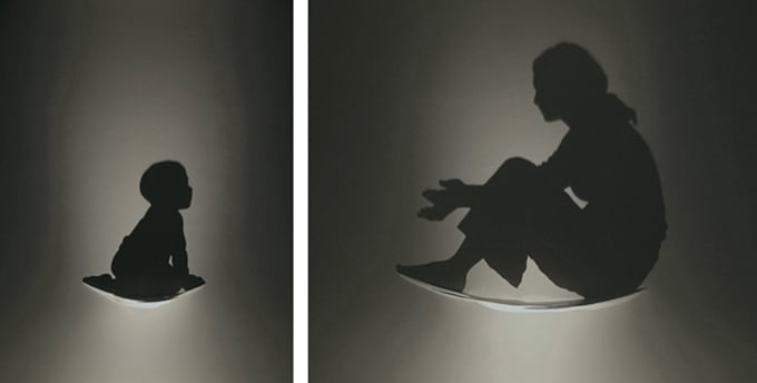 The Art of Shadows by Kumi Yamashita -shadow, designer