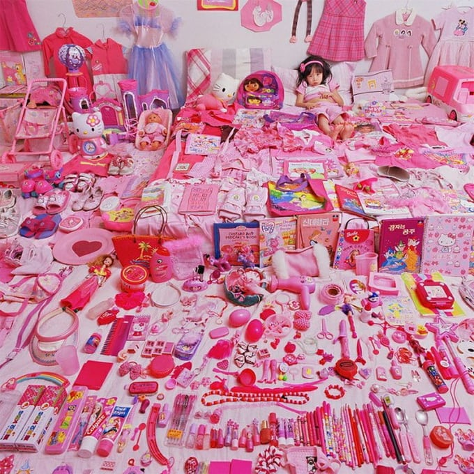 The Pink and Blue Project by Jeongmee Yoon -photo-series