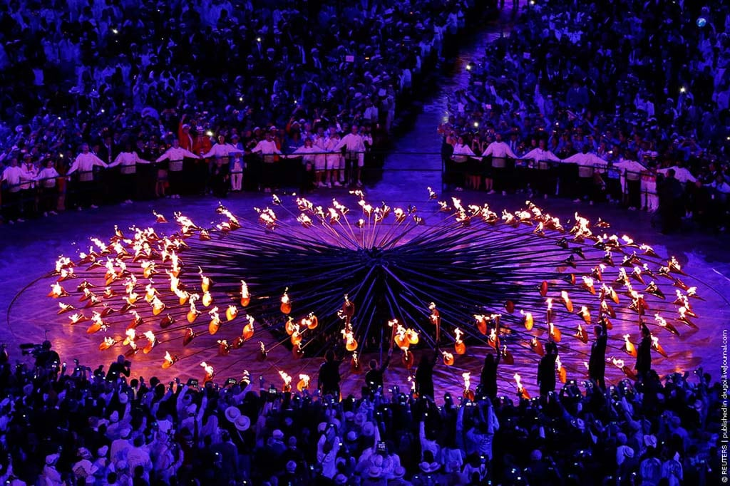 London2012 30 Opening Of The XXX Olympic Games