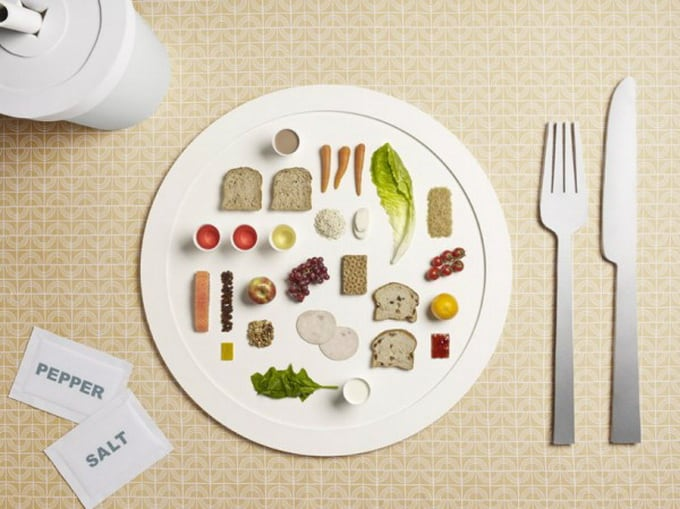 One Day, One Plate! What Do Olympians Eat -photo-series