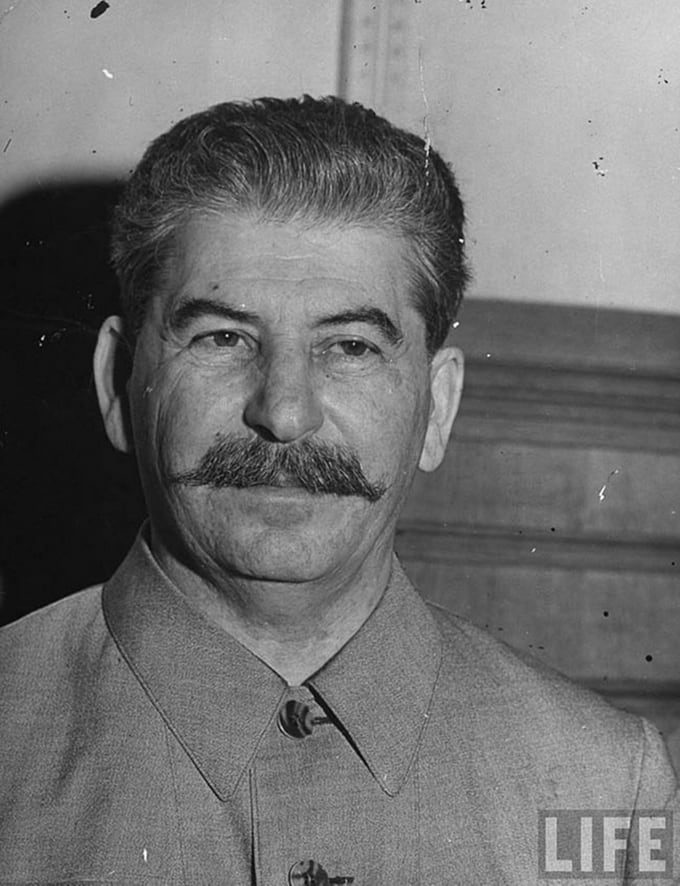 Joseph Stalin in his Kremlin office, 1941