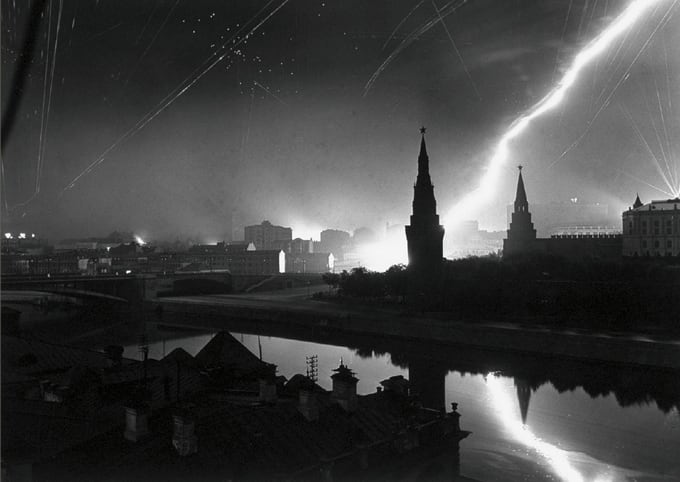 Air raid on Moscow Wehrmacht, 1941