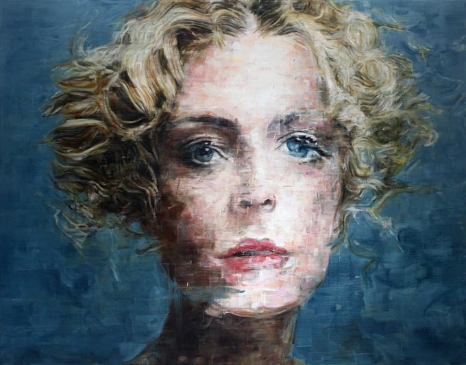 Stunning Oil Portraits by Harding Meyer -portraits, collage, artist