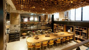 Starbucks 'The Bank' Concept Store in Amsterdam -interior, concept, amsterdam