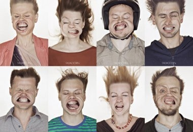 Blow Job Series Captures Faces Blasted with Air