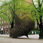Nature Art Installations by Jaakko Pernu