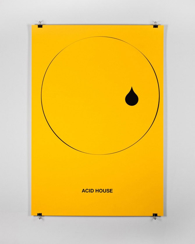 Minimalist Posters Play With Musical Genres -print, posters, minimalism