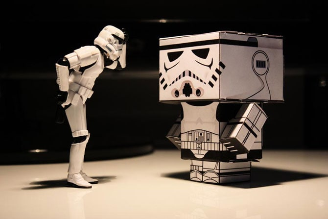 4 5 - What Stormtroopers Do On Their Day Off