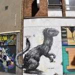 """Animal"" street art by ROA"