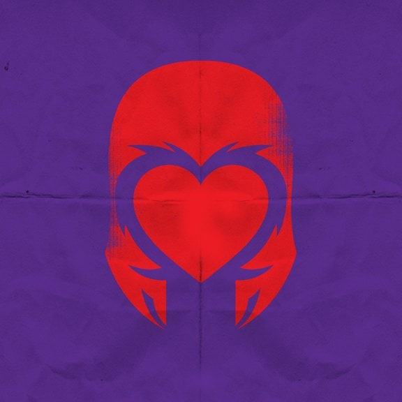 Heroes with heart -superheroes, posters