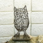 Wire Animals Sculptures by Ruth Jensen