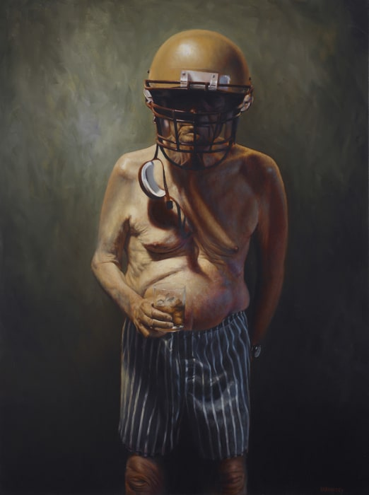 Obscure Pensioner Paintings by Jason Bard Yarmosky -photorealism, artist