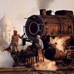Steve McCurry's Epic Train Photography