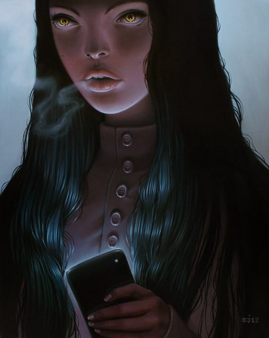 Portrait Paintings by Sarah Joncas -portraits, artist
